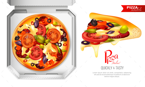 GraphicRiver Pizza Box Composition 20596540