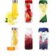 Bottles With Detox Fruit Beverages Set