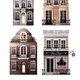 Variations Of Old European Facade Houses