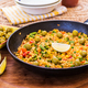 Vegetarian paella with olives - PhotoDune Item for Sale