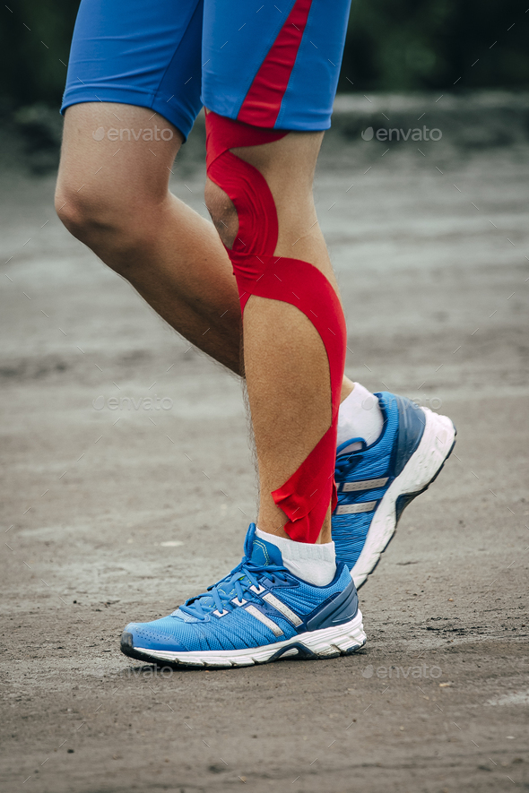 Man runs marathon - Stock Photo - Images