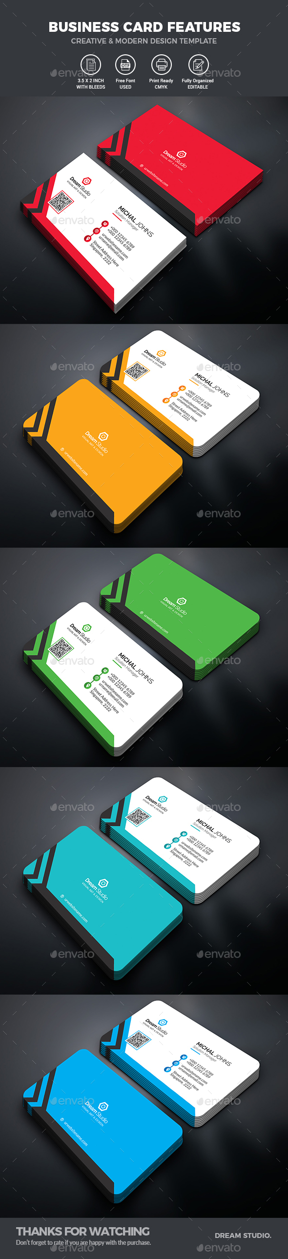 GraphicRiver Business Card 20596723