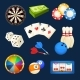 Dice, Snooker, Casino Games, Cards and Other