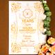 Golden Anniversary Invitation - GraphicRiver Item for Sale