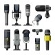 Microphone and Other Professional Speaker Tools