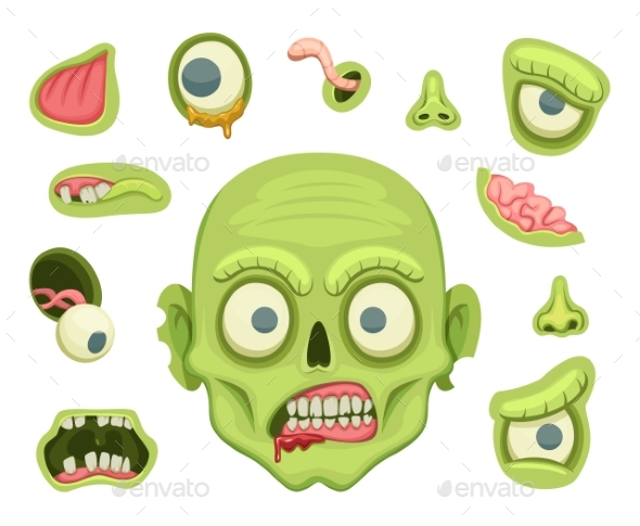 Zombie Creation Kit - Monsters Characters