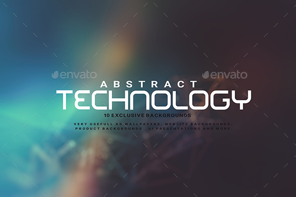 GraphicRiver Abstract Technology Backgrounds 20597062