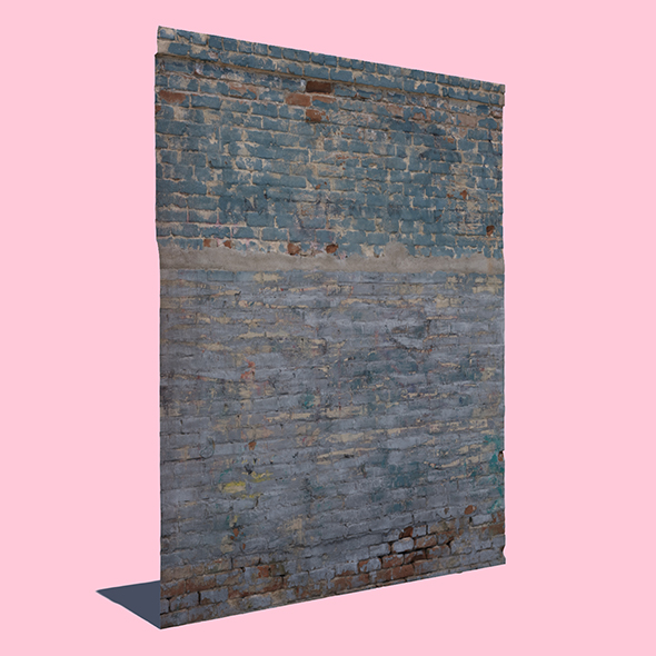 3DOcean Cool Brick Wall 20597250
