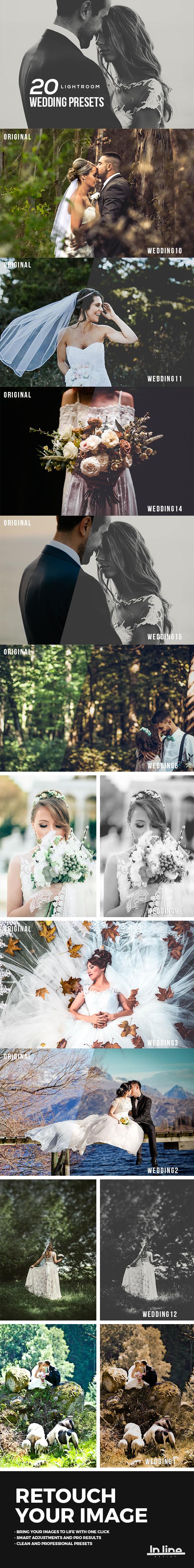 Wedding Premium Lightroom Presets - Wedding Lightroom Presets