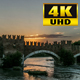 Sunset On Bridge - VideoHive Item for Sale