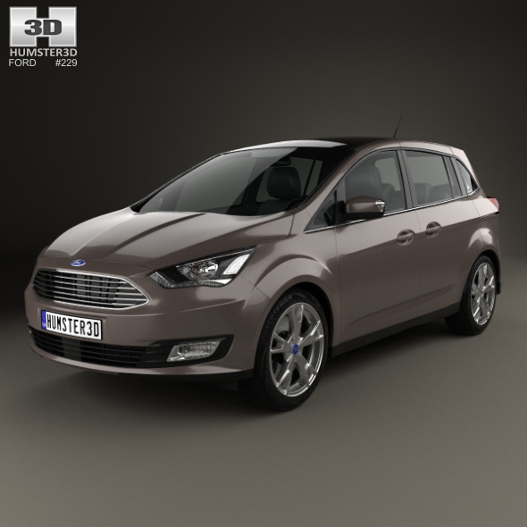Ford Grand C-Max 2015 - 3DOcean Item for Sale