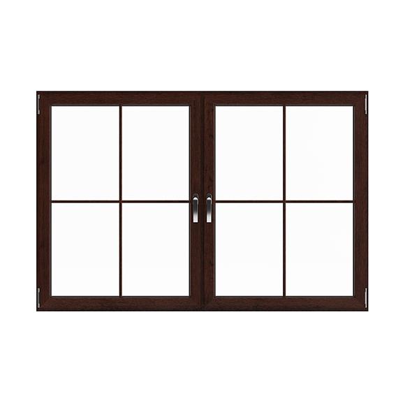 Wooden Window (113.5 x 171 cm) - 3DOcean Item for Sale