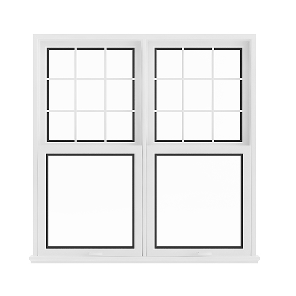 White Window (143.5 x 140 cm) - 3DOcean Item for Sale