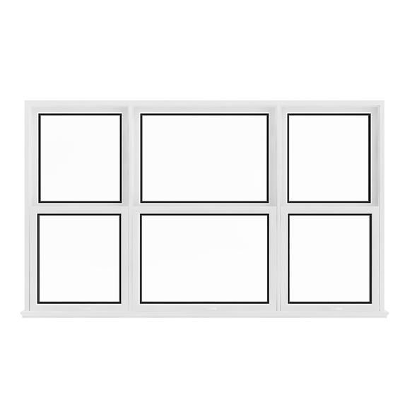 White Window (143.5 x 238 cm) - 3DOcean Item for Sale