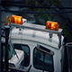 Lights Flashing On Repair Vehicle In Rain - VideoHive Item for Sale