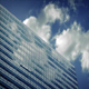 Large Modern Building Reflecting Clouds - VideoHive Item for Sale