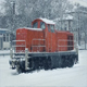 Train Engine In Heavy Snowfall - VideoHive Item for Sale