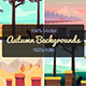 Set of Seamless Autumn Backgrounds - GraphicRiver Item for Sale