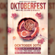 Oktoberfest Festival Flyer Template - GraphicRiver Item for Sale