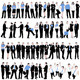 60 Business People Silhouettes Set - GraphicRiver Item for Sale
