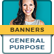 General Banner Ad Templates - GraphicRiver Item for Sale