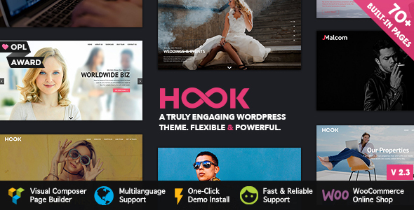 Hook - Superior WordPress Theme - Portfolio Creative