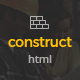 Construct - Construction & Building HTML5 Template - ThemeForest Item for Sale