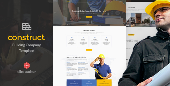 Construct - Construction & Building HTML5 Template