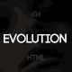 Evolution - Minimal Blog Template