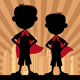 Super Kids 2 Boys - GraphicRiver Item for Sale