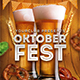 Oktoberfest Beer Festival Party Flyer Template