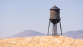 Beautiful Black White and Blue Water Storage Tower - PhotoDune Item for Sale