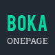 Boka - Bootstrap 4 Onepage Template for Construction, Corporate & Web Agency Template
