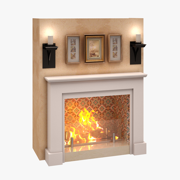 3DOcean Fireplace 03 20598688