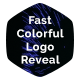 Fast Colorful Logo Reveal