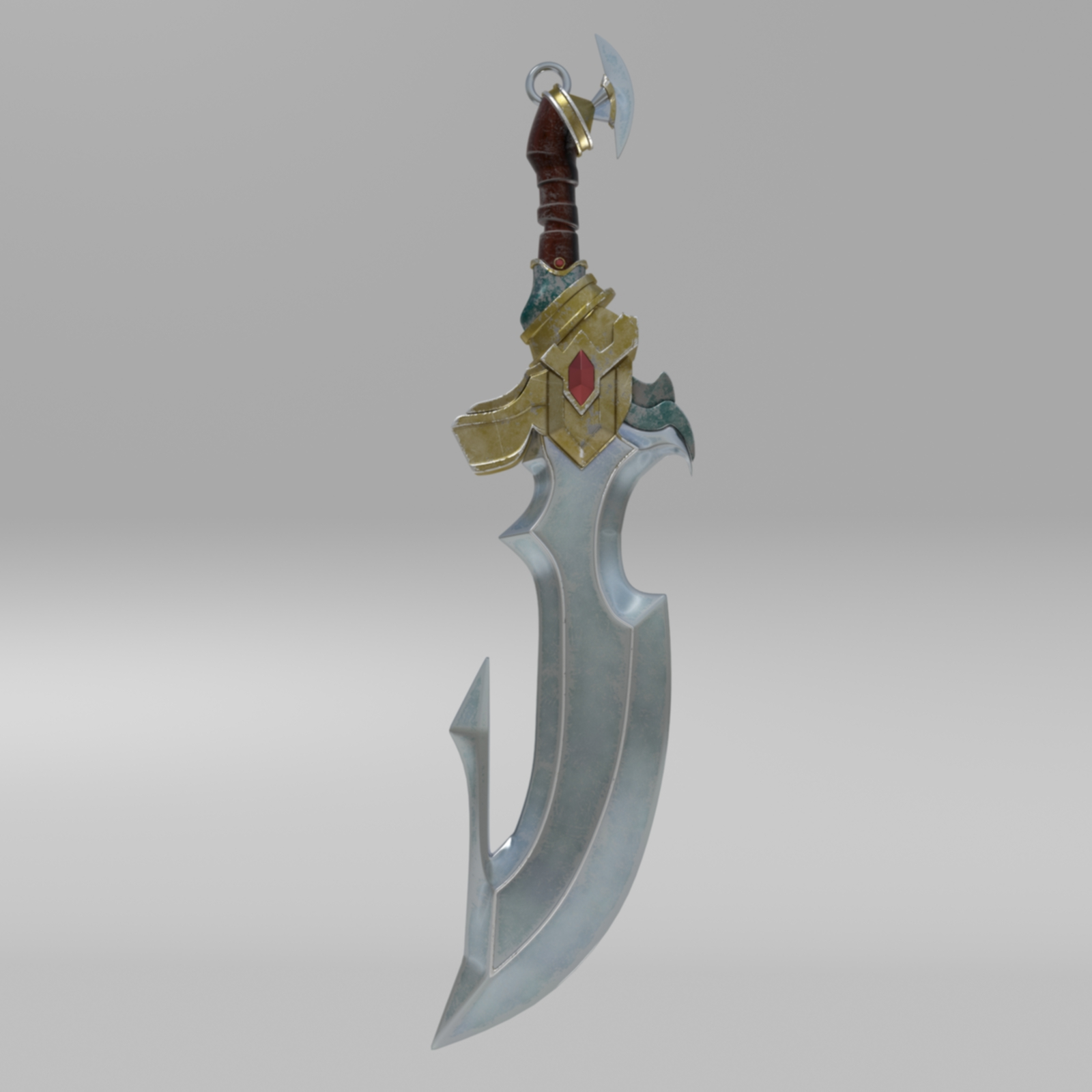 Fantasy Sword 4 By Nicu Tepes 3docean