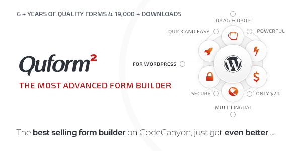 Quform - WordPress Form Builder - CodeCanyon Item for Sale
