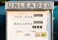 Gas Pump Unleaded Mechanical Vintage Obsolete Equipment - PhotoDune Item for Sale