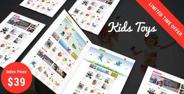 Kids Toys Shop - Responsive Prestashop 1.7 Theme