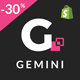 Gemini - Responsive Shopify Fashion Theme