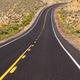 Open Road Vertical Dark Asphalt Two Lane Road Twin Lane Highway - PhotoDune Item for Sale