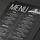 Simple Black Menu