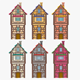LowPoly Medieval Houses
