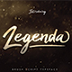 Legenda Brush Script