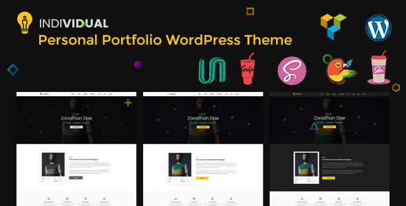 Person – Minimal Private Portofolio WordPress Theme (Portfolio)