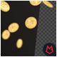 Floating Gold Coins 4K