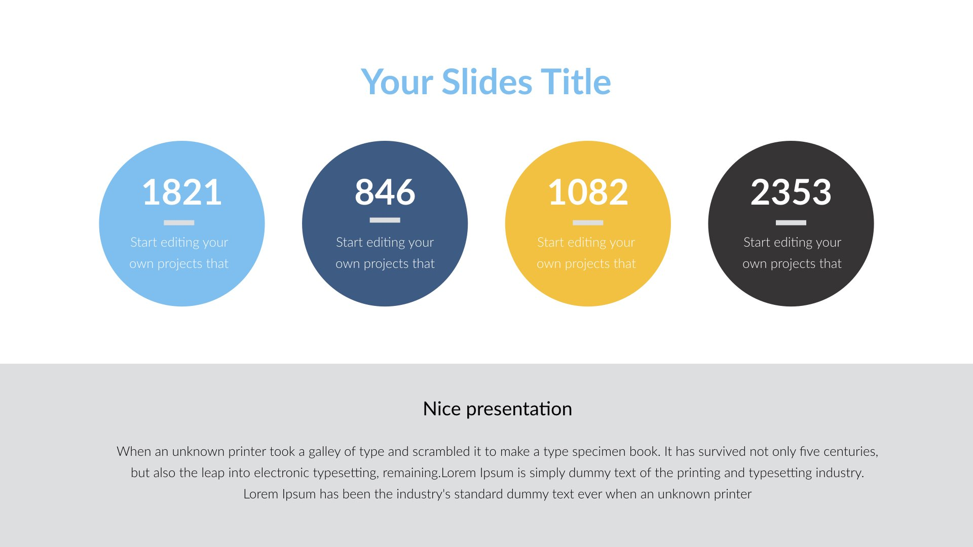 Premim - Creative Keynote Presentation Template