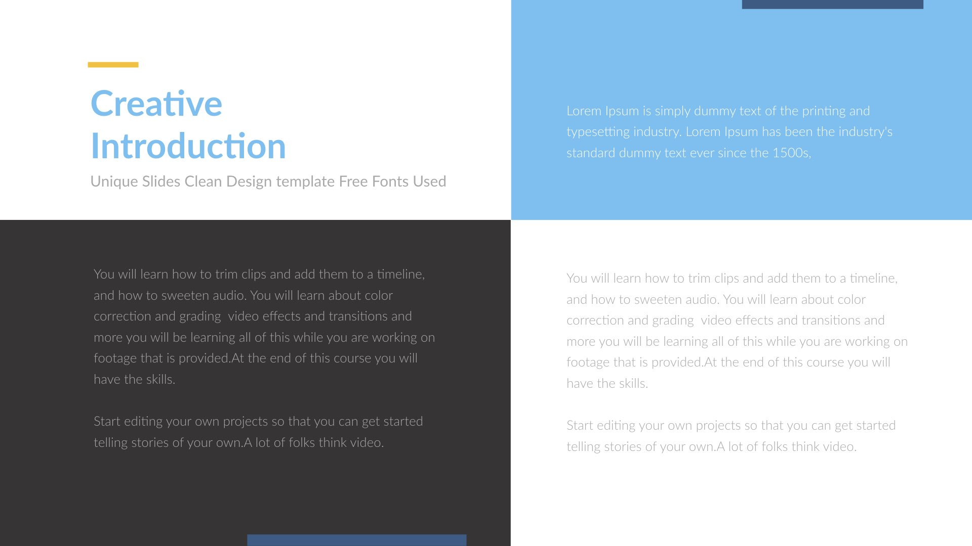 Premim Creative Powerpoint Presentation Template By 5yue