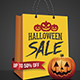 Halloween Sale Flyer Poster