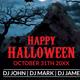 Halloween Flyer/ Poster